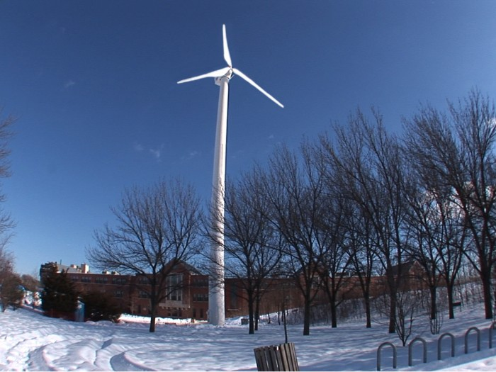 medford wind turbine