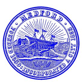 Medford City Seal Blue